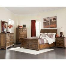 Elk Grove Rustic Vintage Bourbon Eastern King Bed