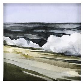 Watercolor Waves III