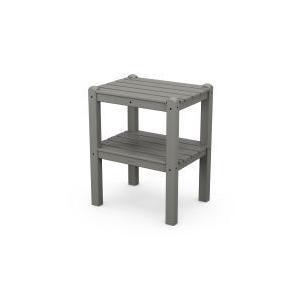 Polywood Furnishings - Two Shelf Side Table in Slate Grey