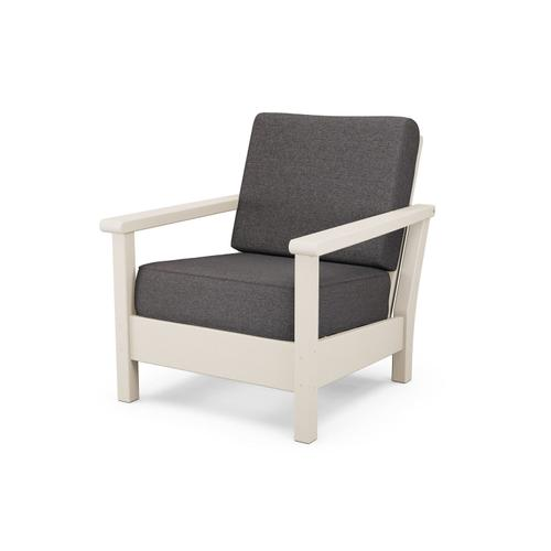 Sand & Ash Charcoal Harbour Deep Seating Chair
