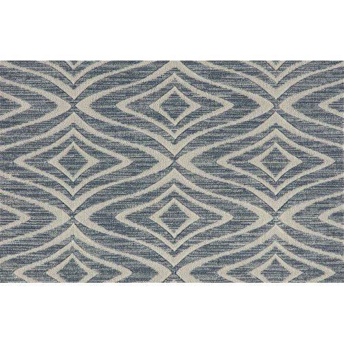 Elegance Modern Trellis Mdntr Steel Blue Broadloom Carpet
