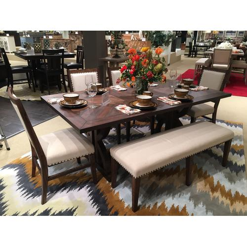 Fairview Oak Dining Height Base