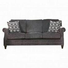 ACME Ilex Sofa w/2 Pillows - 50290 - Gray Chenille