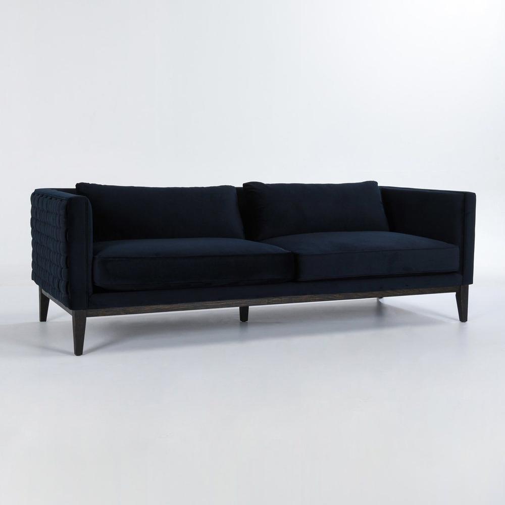 See Details - Reinhardt Sofa Midnight Blue