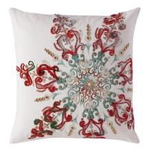 Twinkling Snowflake Pillow