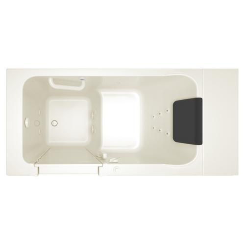 Luxury Series 28x48-inch Whirlpool Walk-in Tub  Left Drain  American Standard - Linen
