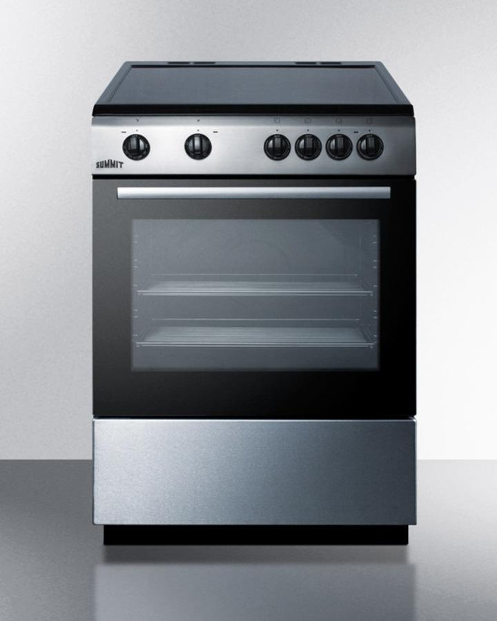 """Summit24"""" Wide Smooth Top Electric Range"""