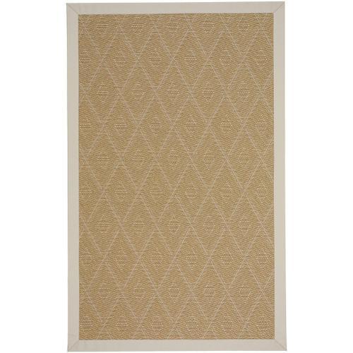 "Savanna-Tumbleweed Cream Canvas Antique Beige - Rectangle - 24"" x 36"""