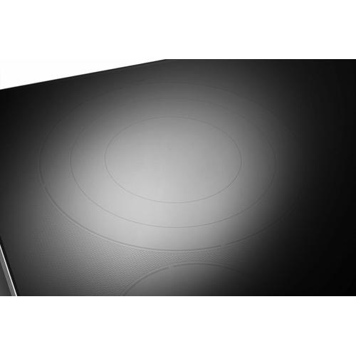 """KitchenAid - 36"""" Electric Cooktop with 5 Elements and Knob Controls - Stainless Steel"""