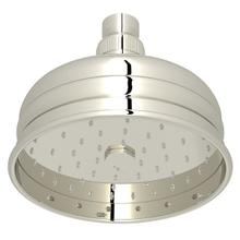 "Polished Nickel 5"" Bordano Rain Anti-Calcium Showerhead"