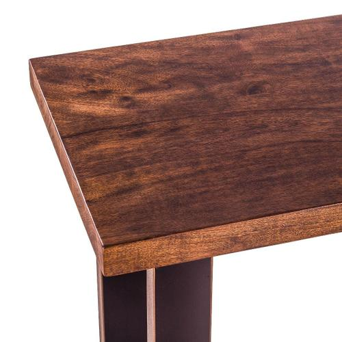 """Paso Robles 70"""" Sofa Back Console Table Tawny Brown"""