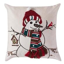 Jolly Snowman Pillow