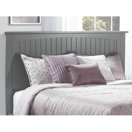 Nantucket Headboard Queen Atlantic Grey