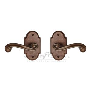 AR Escutcheon Shown with Chiltern 160 lever in light bronze patina Product Image