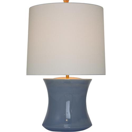Visual Comfort - AERIN Marella 28 inch 15.00 watt Polar Blue Crackle Accent Lamp Portable Light