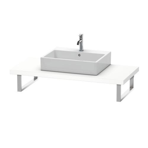 Console For Above-counter Basin And Vanity Basin, White Matte