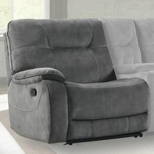 View Product - COOPER - SHADOW GREY Manual Left Arm Facing Recliner