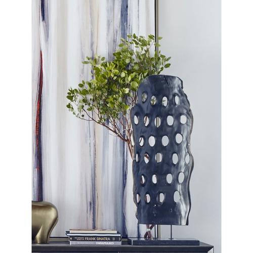 Wood Abstract Art Weathered Grey