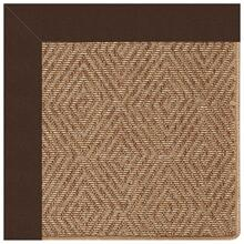 "View Product - Islamorada-Diamond Canvas Bay Brown - Rectangle - 24"" x 36"""