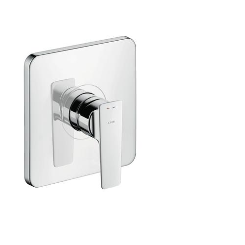 Brushed Black Chrome Single lever shower mixer for concealed installation
