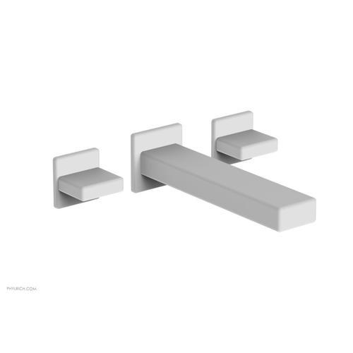 MIX Wall Lavatory Set - Blade Handles 290-11 - Satin White