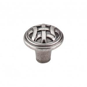 Celtic Small Knob 1 Inch - Pewter Antique