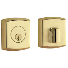 Lifetime Polished Brass Soho Deadbolt
