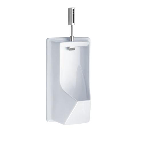 Lloyd Urinal with Electronic Flush Valve - ADA - Cotton