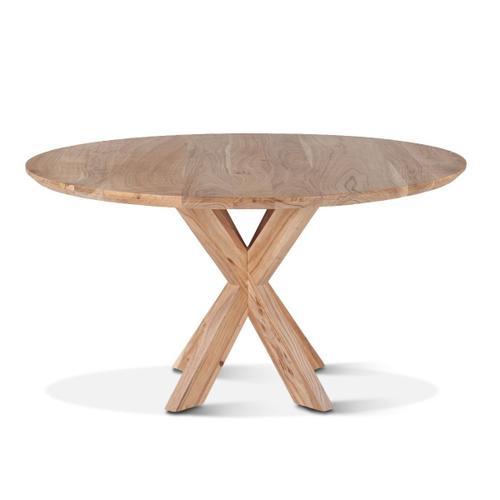 "Tallinn 54"" Round Dining Table Natural"