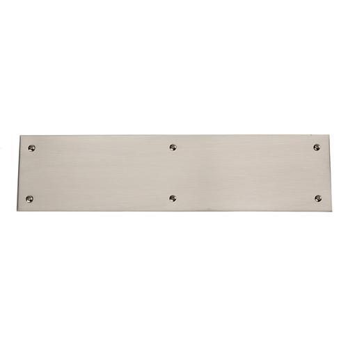 Baldwin - Satin Nickel Square Edge Push Plate