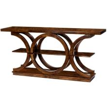 See Details - Add a dash of character to your living room or entryway with this modern console table. Crafted from solid Mango wood it showcases three tiers to display your most charished photos, stacks of books or potted plants. This console table is function as it is charming. Can be used as an entertainment center. Varitions in color or graining are to be expected with this product.