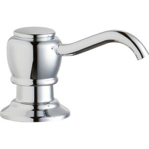 "Elkay 2"" x 4-1/2"" x 1-3/4"" Soap / Lotion Dispenser, Chrome (CR) Product Image"