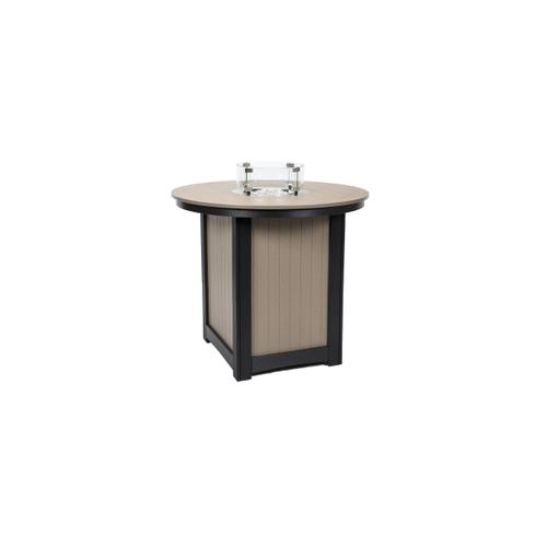 Donoma Round Bar Height Fire Table