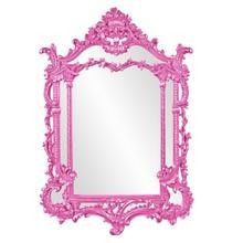 View Product - Arlington Mirror - Glossy Hot Pink