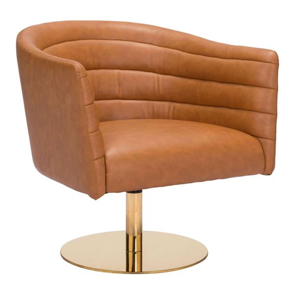 See Details - Justin Accent Chair Brown