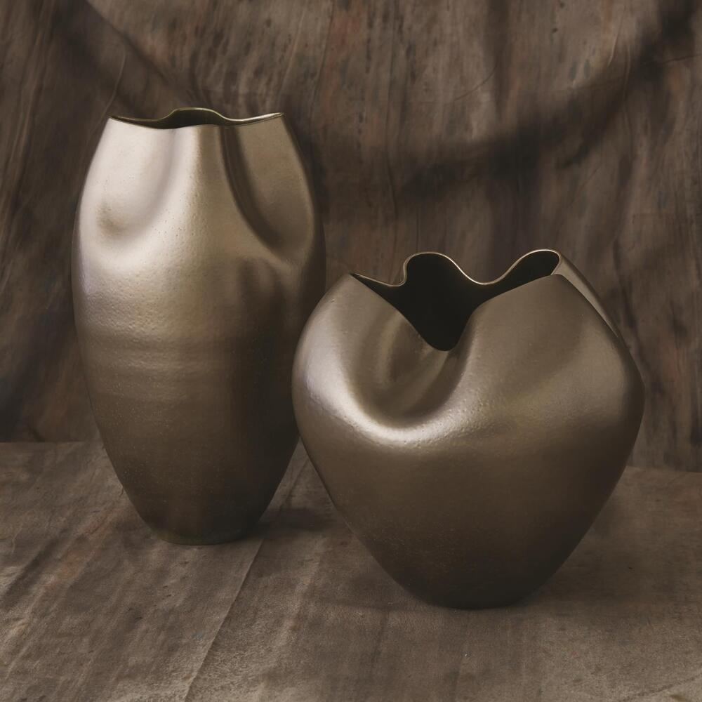 See Details - Plait Vase-Silver Haze-Tall