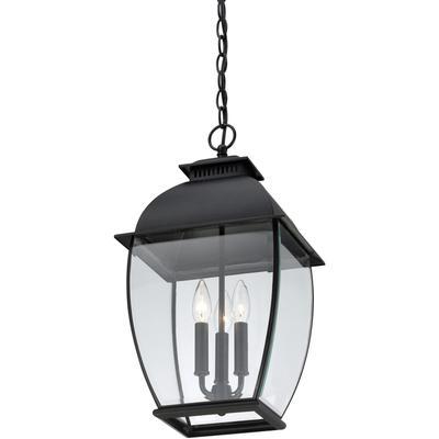 See Details - Bain Outdoor Lantern in Mystic Black