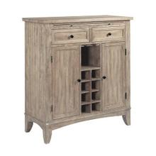 The Nook Heathered Oak Wine Server