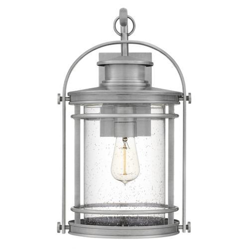 Quoizel - Booker Outdoor Lantern in Industrial Aluminum