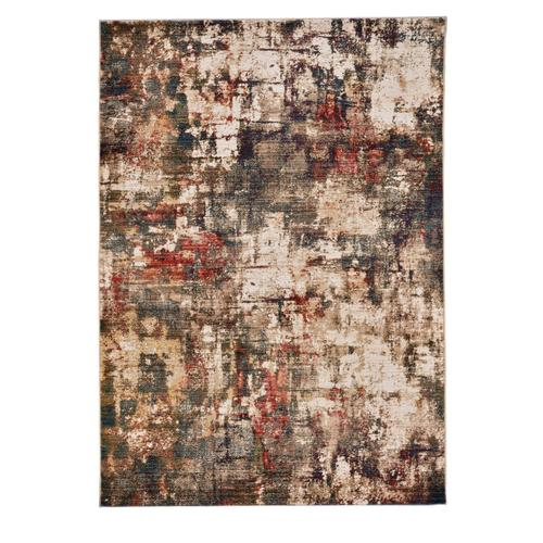 Alden-Abstract Multi Machine Woven Rugs