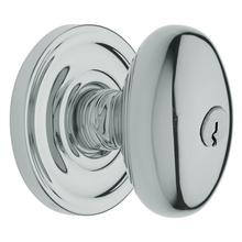 Polished Chrome 5225 Egg Knob