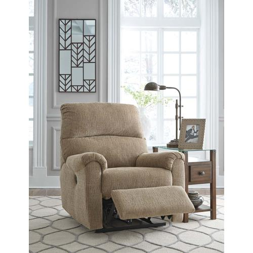McTeer Power Recliner - Mocha