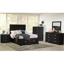 Altamonte 5 Drawer Chest - Dark Charcoal