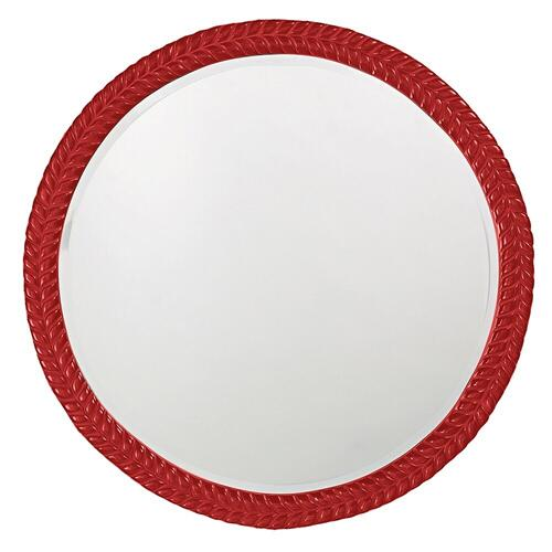 Howard Elliott - Amelia Mirror - Glossy Red