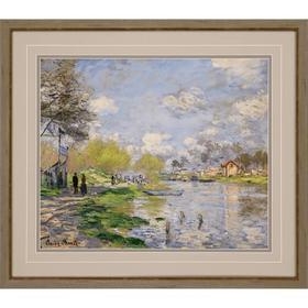 Spring By The Seine, 1875