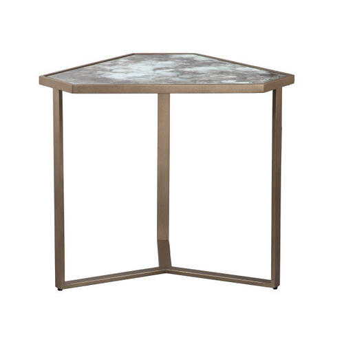 Impressionable Surfaces Falling Water End Table