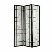 ACME Iola 3-Panel Room Divider - 02254 - Black Product Image