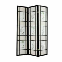 ACME Iola 3-Panel Room Divider - 02254 - Black