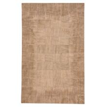 Laramie-Brushed Blocks Copper Flat Woven Rugs