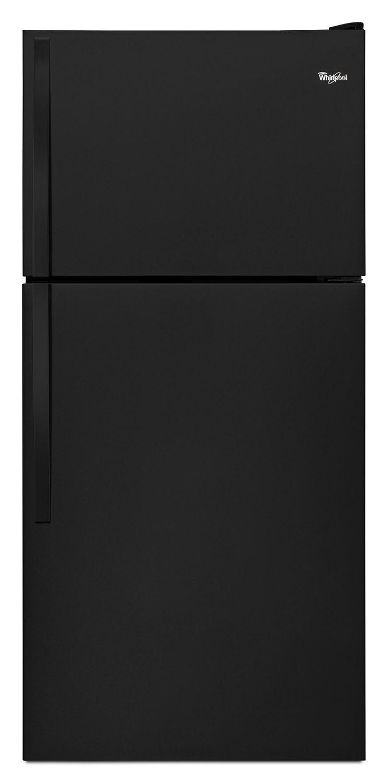 Whirlpool30-Inch Wide Top Freezer Refrigerator - 18 Cu. Ft. Black